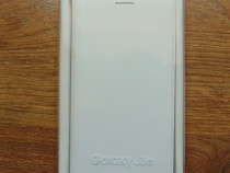 Husa alba tip portofel (Flip Wallet) pentru Samsung J3 (noua