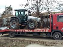 Transport tractoare si utilaje agricole