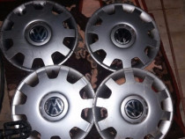 Set de 4 capace originale VW pe 14