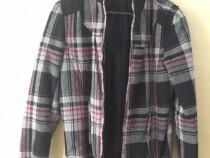 Jacheta scurta dama material textil