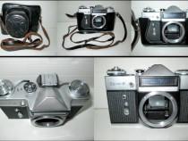 Aparat foto sovietic vechi de colectie Zenit E fara obiectiv