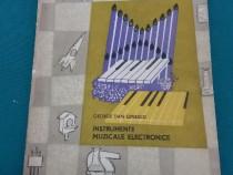 Instrumente muzicale electronice/ george dan oprescu/ 1965