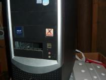 Carcasă neagră tower pentru unitate calculator PC