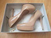 Pantofi Jessica Simpson, bej nude superbi, masura 38-38.5