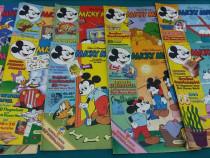 Lot 10 reviste micky maus*benzi desenate limba germană/1984