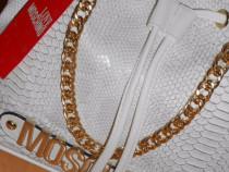 Genti Moschino ,new model ,calitate superioara/logo auriu