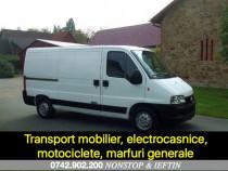 Transport ieftin marfuri, motociclete, mobilier etc.