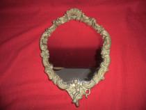 Oglinda cu rama din bronz 42x29 cm