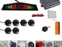 Senzori parcare afisaj display LED sunet fata spate set kit