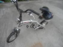 Bicicleta electrica pliabila din aluminiu, roti pe 16'