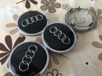 Capace Audi originale pe culoarea negru