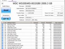 Hdd internal western digital green 2tb sata wd20ears perfect