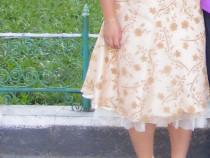 Rochie crem - 40