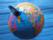 Glob terrestru 33cm,hartageopolitica,cadoueducativ,siramburs