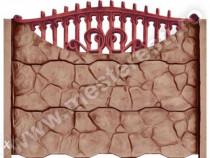 Gard prefabricat Beton Gotic 1 - Transport Gratuit in tara