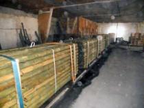 Tarusi lemn tratat pentru retele electrice