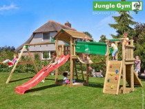 Loc de joaca jungle gym cottage-bridge-swing
