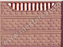Gard din Beton Troian 6 - transport gratuit in tara