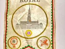 4653-Fanion vechi sportiv Lions Intern District 112 Belgia.