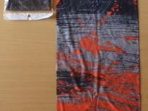Bandana cagula buff esarfa pt bicicleta munte ski portocaliu