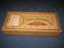 3964-Cutie Savon des Bayaderes- L.Eeckelaers sapun veche de