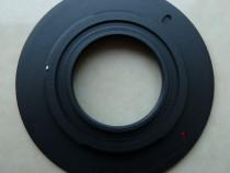 Inel adaptor montura C-Micro 4/3 Panasonic,Olympus