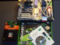 Amd athlon 64 3200+ placa baza gigabyte ga-k8fn-9 +4x512mb