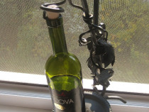Stativ metalic bauturi fier forjat model vita de vie.