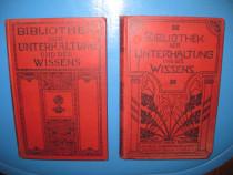 6170-Biblioteca Divertisment-Cunoastere 1905-1909. 2 volume.