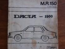 Manuel de reparation Dacia 1300 UAP / R3F