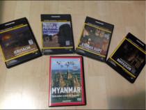 Dvd-Ierusalim,Egipt,Insula Pastelui,Mayasii,Myanmar