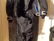 Complet moto geaca si pantalon textil pro biker warriors rac