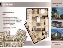 Apartament 3 camere, 3 min Metrou Timpuri Noi, 106 mp utili