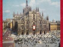 31 vederi color și harta orașului Milano