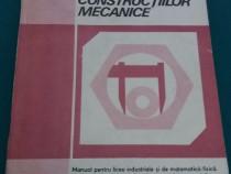 Utilajul și tehnologia construcțiilor mecanice / manual