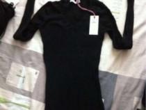 Pulovar negru, kenvelo, nou, cu eticheta, mărimea xs