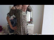 Bluza pt colanți, animal print, marimea s