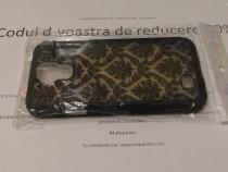 Husa Samsung Galaxy S4, carcasa + folie protectie model flor