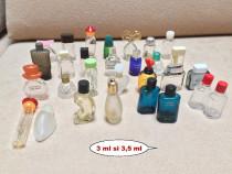 Lot sticlute de parfum goale - rare,de colectie (323 bucati)