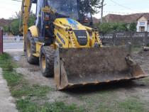 Execut lucrari cu buldoexcavator