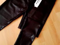 Pantaloni/colanti mexton/new model/piele eco(m l xl xxl)