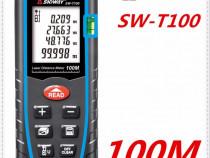 Telemetru / ruleta laser 100m (precizie+-2mm), sndway
