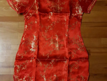 Rochie traditionala chinezeasca - rosie