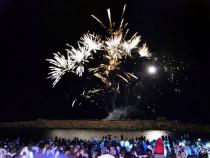 Artificii joc pe cer