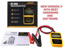 Tester universal baterii acumulatori auto 12V Autool BT-360