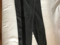 Pantaloni model sport Zara gri si negri