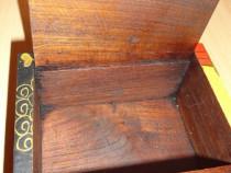 Caseta Budha  lemn de mahon