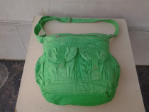 Divided Green poseta dama 40*35 cm