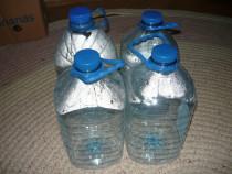 Sticle plastic PET, bidon, bidoane apă 5 litri 10 bucăți