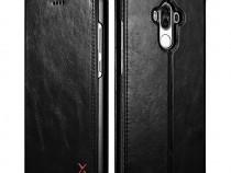 Husa piele naturala Xoomz Huawei Mate 9 magnetica negru